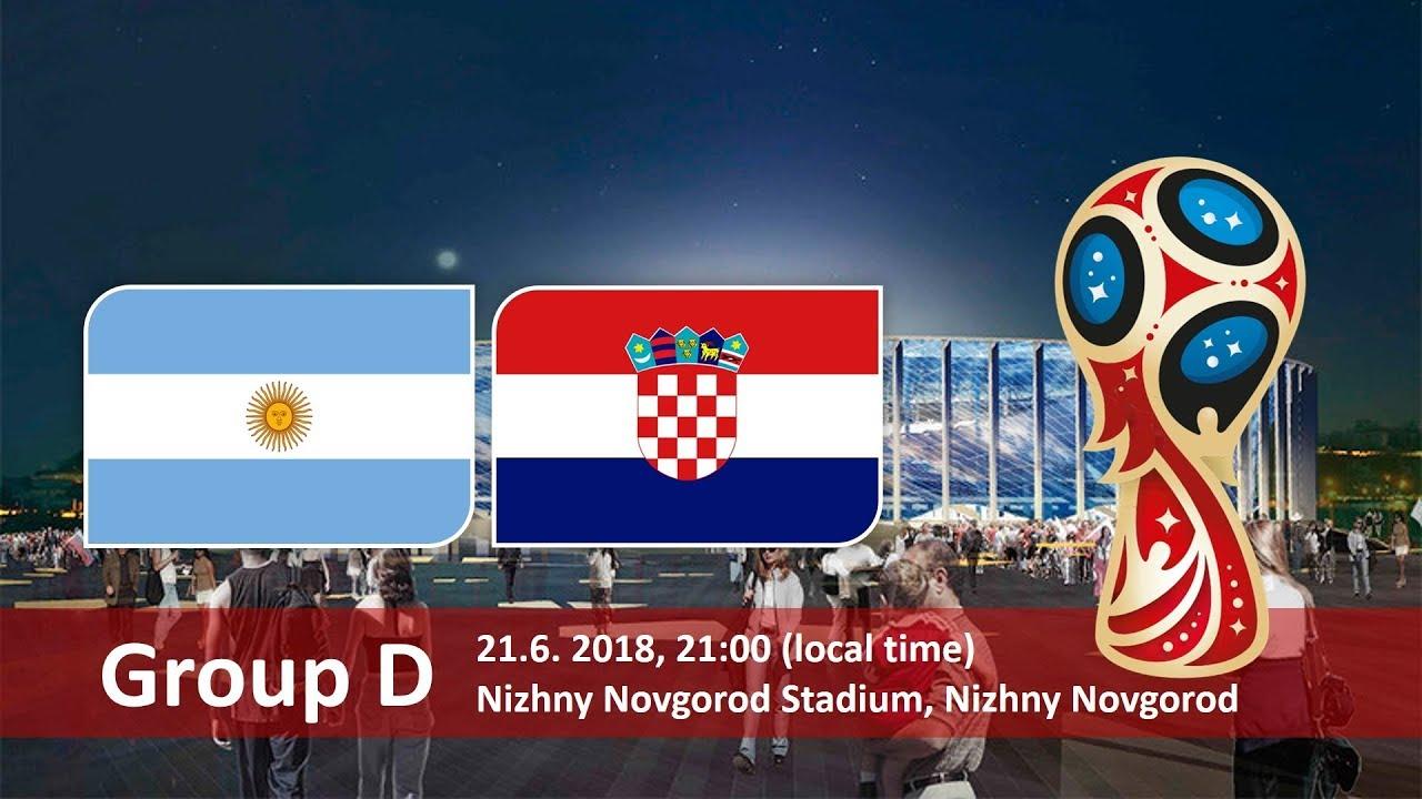 World Cup Betting Argentina vs Croatia June 21