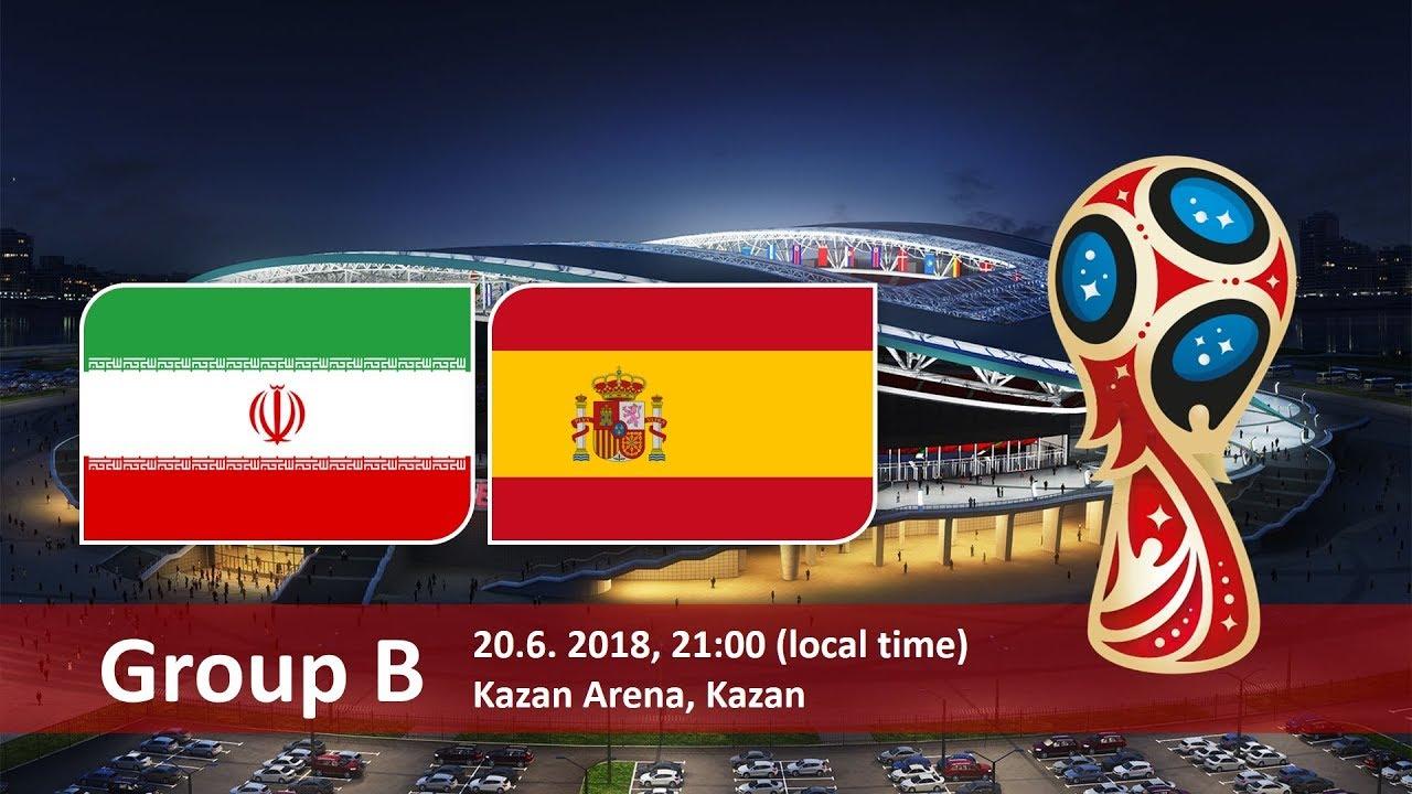 World Cup Betting Iran vs Spain June 20